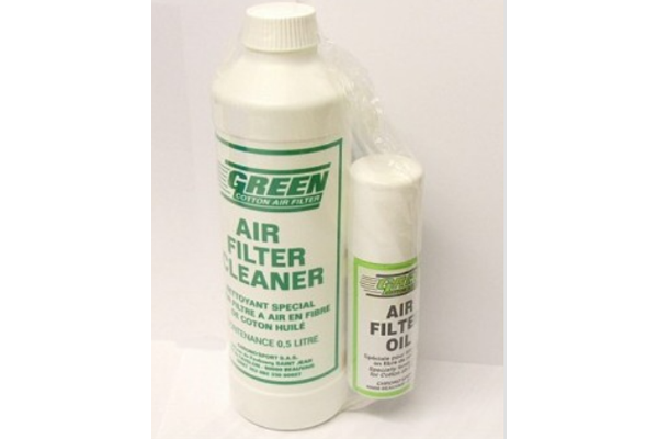 Green Cotton Filter Cleaning & Oil Kit